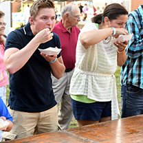 Sauerkraut Eating Contest Bavarian Blast